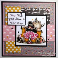 Honey Bootique: Stamping Bella Tiny Townies Dorothy The Dreamer