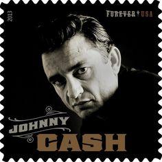 Johnny Cash leaves his stamp on US Postal Service