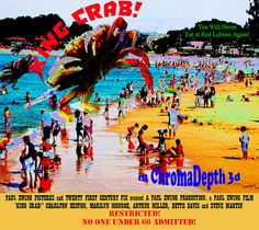 """""""King Crab"""" (Fifties Style Faux Movie Poster)"""