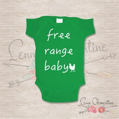 Hey, I found this really awesome Etsy listing at https://www.etsy.com/listing/229177329/free-range-baby-infant-bodysuit-hipster