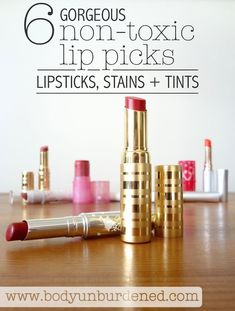 Looking for the best natural lipstick? After trying so many, here are my absolute favorite non-toxic lip picks - natural lipsticks, lip stains, and tints. They give gorgeous color and moisture without the unhealthy chemicals. Because you should never compromise your health in the name of beauty!
