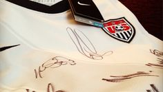 Win a signed US Men's National team jersey! Every week in September, US Youth Soccer is giving away US Soccer gear to celebrate Youth Soccer Month! Us Youth Soccer, Soccer Gear, Us Man, Survival, September