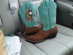 Them Blue Boots......
