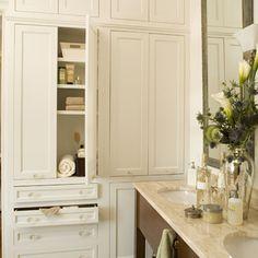 Home and Event Styling - http://meganmorrisblog.com/2014/08/tips-ideas-better-linen-closet/