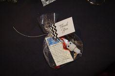Appreciation: Spark plug wedding favors