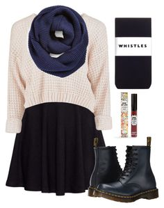 """""""I'm so unmotivated"""" by a-dance02 ❤ liked on Polyvore featuring H&M, BP., Whistles, Dr. Martens, TheBalm and companionalexa"""
