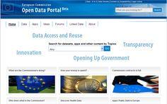https://open-data.europa.eu/en/data/ EU Open Data Portal