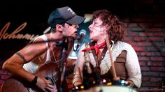"The definition of ""badass"" is Cary Ann Hearst and Michael Trent,AKA ""Shovels and Rope."""