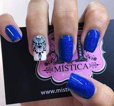 Bling Nails, Red Nails, Boutique Nails, The Art Of Nails, Purple Nail Art, Square Acrylic Nails, Bright Nails, Stylish Nails, Nail Arts