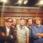 Foghead meets one of his favorite bands, Phoenix at a KFOG Playspace performance!