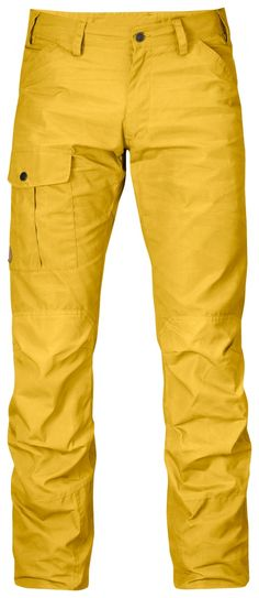 Comfortable, durable trousers in soft, brushed G-1000 Silent with G-1000 Original reinforcements across the rear and knees. Functions just as well for everyday use as for picking mushrooms in the forest. One leg pocket and two hand pockets. Mid waist and