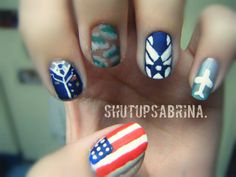 Who's gonna let me do this on their nails since I can't do it on my own.