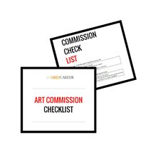 Free Art Commission Checklist