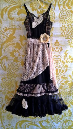 whisper pink nude & black lace petticoat off beat bride pin up wedding dress by mermaid miss k