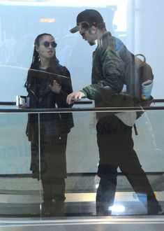 FKA Twigs and Robert Pattinson spotted together at LAX airport