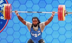 Kendrick Farris, The Only Male U.S. Weightlifter In The Olympics, Is Totally Vegan