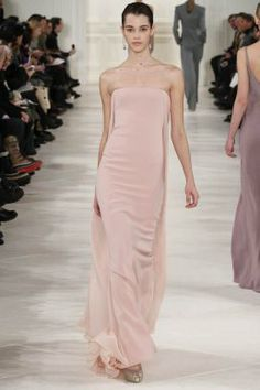 Ralph Lauren_MFW FW 2014 pink silk