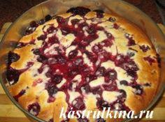шарлотка из замороженных ягод рецепт с фото