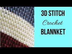 Use this free crochet afghan pattern to make your most coveted home decor piece. The pattern has a beautiful texture that looks Crochet Stitches For Blankets, Crochet Baby Blanket Beginner, Crochet Stitches For Beginners, Crochet Dishcloths, Crochet Afghans, Crochet Squares, Modern Crochet Patterns, Crochet Stitches Patterns, Crochet Cushion Cover