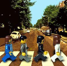 Lego Beatles love.