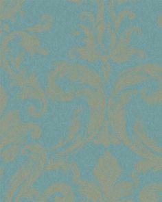 Gl ckler ornament tapete vlies tapeten 52547 pomp s for Goldene wand tapete