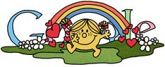 Happy 76th Birthday Roger Hargreaves... thank you for the Mr Men & Little Miss books that filled my childhood.