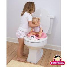 How to use a drink-and-wet doll (like Corolle Paul doll) as a potty training aid
