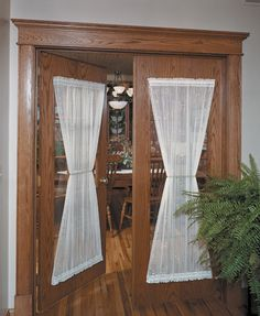 Enhance Your Home Entrance with Door Curtain Panels | Drapery Room Ideas