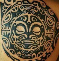 Polynesian tattoo. .my inspiration