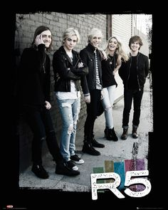 R5 - Group - Official Mini Poster