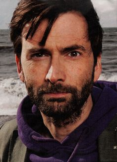 PHOTO OF THE DAY - 23rd May 2016:   David Tennant in the Observer Magazine (2014)