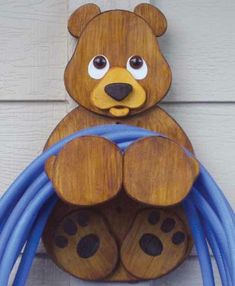19-W2822 - Bear Hose Holder Woodworking Plan from Meisel Hardware Specialties
