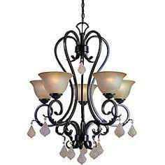 Woodbridge Lighting Firenza 5-light Colonial Bronze Chandelier