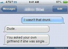 But what did she say? - Funny text messages
