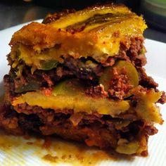 Paleo Pastelón (Sweet Plantain Lasagna)