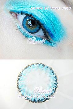 Blue color with subtle iris rim. Color Contacts, Blue Contacts, Circle Lenses, Big Eyes, Iris, Circle Glasses, Irise, Coloured Contact Lenses, Irises