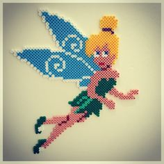 Tinker Bell hama beads by bianca11483