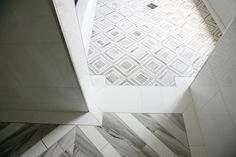 Marble Bathroom Shower Tile by Builders Floor Covering & Tile