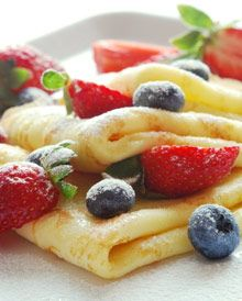Finnish Crêpes - Lettu, Making these in the morn :) so delicious