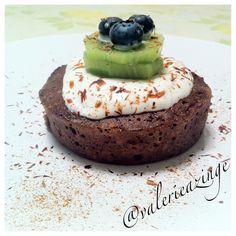 Chocolate Banana Protein Mug Cake