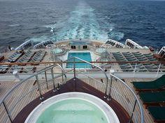 Queen Mary 2 QM2 Deck Transatlantic Crossing by garybembridge, via Flickr