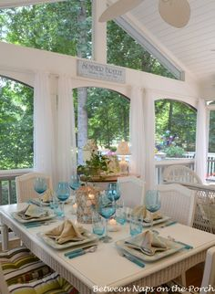 Image detail for -Beach Themed Table Setting: The 196th Tablescape Thursday