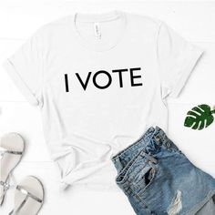 I VOTE T-Shirt – Five Karats Apparel