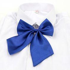 Unisex Vogue Elastic Butterfly Cravat Neck Wear Adjustable Party Solid Color Bow Tie Men Women Accessories New Sale #Affiliate