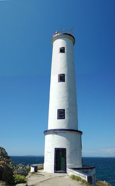 LightHouse in Cabo Home, Rias baixas, Galicia by Luis Alves, via Flickr