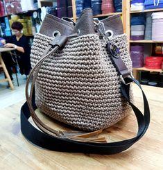 36, Knitted Bags, Handicraft, Bucket Bag, Greek, Sugar, Products, Fashion, Handmade Bags