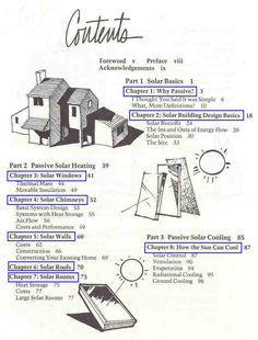 """Free downloadable pdf's """"Passive Solar Energy -- The Homeowner's Guide to Natural Heating and Cooling"""", Bruce Anderson and Malcolm Wells."""