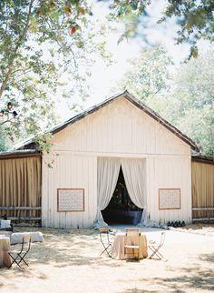 Rustic barn reception   Dos Pueblos Ranch Wedding