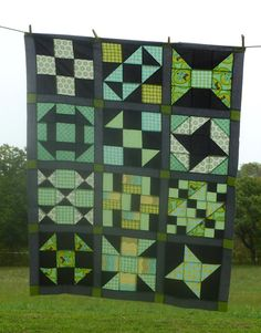 """""""Stained Glass"""" quilt from Tammie Schaffer"""