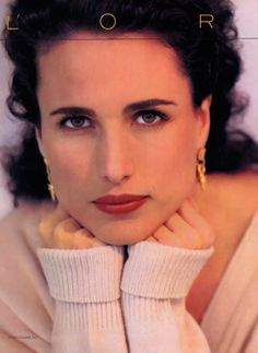 Andie MacDowell - So beautiful and timeless